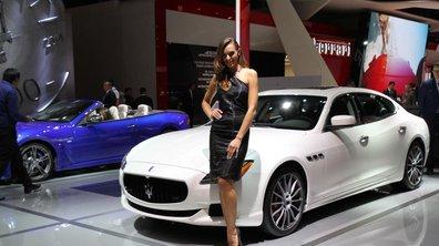Mondial de l'Auto 2016 : les hôtesses du Salon