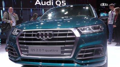 Mondial de l'Auto 2016 : l'Audi Q5 passe la seconde