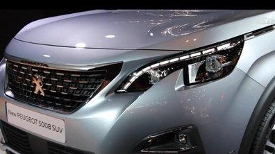 Mondial de l'Auto 2016 : Peugeot 5008, adieu monospace, bonjour SUV