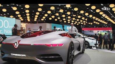 Mondial de l'Auto 2016 : Renault TreZor Concept, désir électrique et autonome