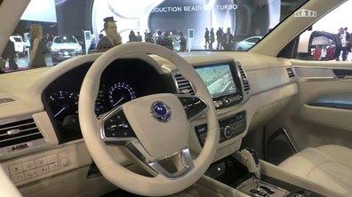 Mondial de l'Auto 2016 :  SsangYong LIV-2 Concept, résolument moderne