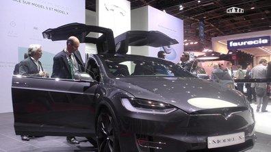 Mondial de l'Auto 2016 : Tesla Model X, enfin le lancement !