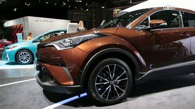 Mondial de l'Auto 2016 : Toyota CH-R, la révolution nippone