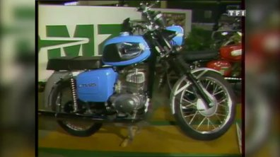 Les motos du Mondial de l'Auto – Automoto 13 octobre 1984