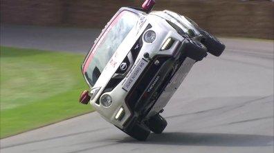 Le Nissan Juke Nismo RS bat un record sur 2 roues