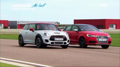 No Limit : Audi S1 vs MINI JCW, duel de petites sportives