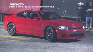 No limit : Dodge Charger SRT Hellcat, la berline la plus puissante au monde