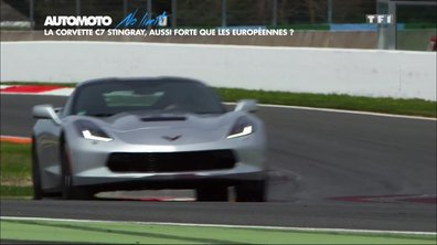 No Limit : La nouvelle Corvette Stingray 2016 sur circuit