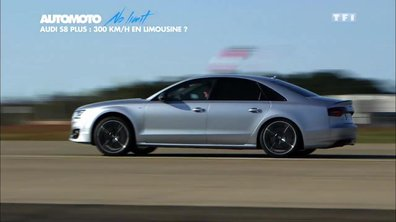 No Limit : Objectif 300 km/h en Audi S8 plus !