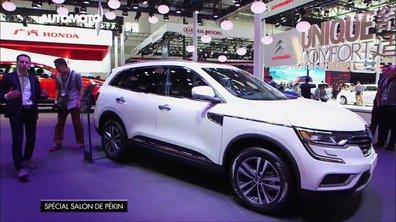 Le Nouveau Renault Koleos dévoilé au Salon de Pékin 2016