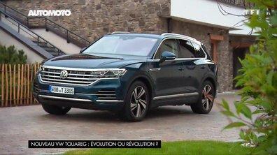 Nouveau VW Touareg : Evolution ou révolution ?