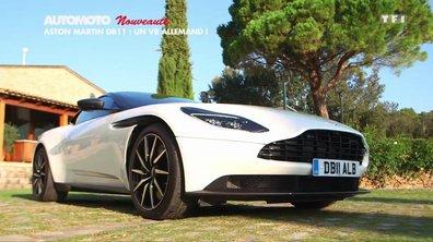 Nouveauté : Aston Martin DB11, un V8 allemand ?