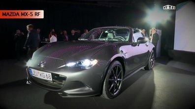 Mazda MX-5 RF 2016 : présentation du coupé-cabriolet à Paris