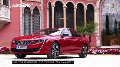 Nouvelle Peugeot 508 : Plus fortes que les Allemandes ?