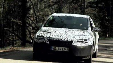 Opel Astra 2016 : présentation officielle sous camouflage