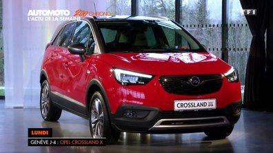 Opel Crossland X 2017 : Nos premières impressions