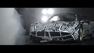 Pagani Huayra R 2016 : bande-annonce sous camouflage