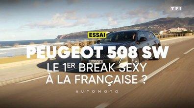 Peugeot 508 SW : le 1er break sexy à la française ?