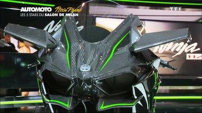 Plein Phare : Les 5 Stars du Salon Moto De Milan 2014