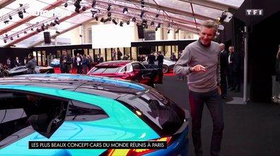 Les plus beaux concept-cars du monde réunis à Paris