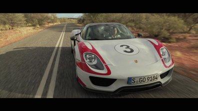 Porsche 918 Spyder : à 350 km/h sur route ouverte !