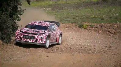 Premier essais de la Citroën C3 WRC 2017