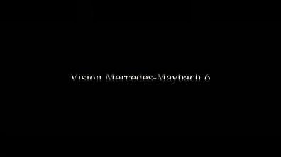 Premier teaser du concept Vision Mercedes-Maybach 6