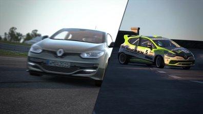 Project Cars : bande-annonce avec les Renault Clio Cup et Mégane R.S.