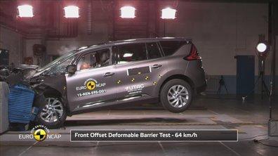 Le Renault Espace au Crash-test EuroNCAP 2015