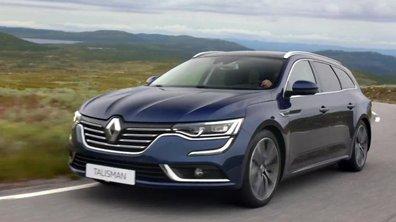 Renault Talisman Estate 2016 : présentation officielle