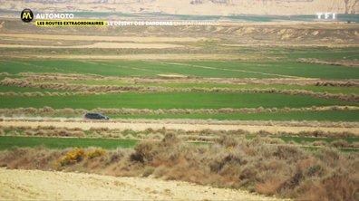 Les routes extraordinaires : le désert des Bardenas en Seat Tarraco