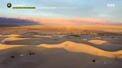 Les routes extraordinaires : la vallée de la mort en Mercedes Classe G