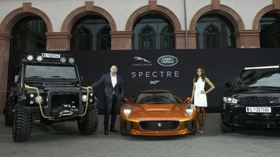 "Les voitures Land Rover et Jaguar de James Bond ""Spectre"""