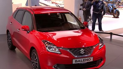 Salon de Francfort 2015 : Suzuki Baleno, la Swift extra-large