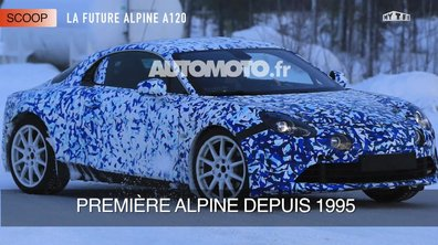 La future Alpine A110 2017 en scoop