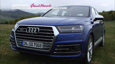 Grand Format : dans les coulisses des technologies d'Audi