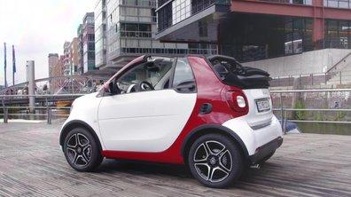 smart fortwo cabrio 2016 : présentation officielle