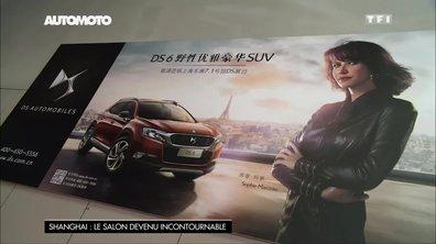 Sophie Marceau : l'atout charme de la marque DS en Chine