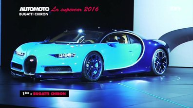 Sondage Automoto : la Supercar de l'Année 2016 est la Bugatti Chiron