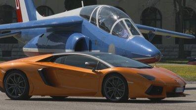 Teaser : Duels voiture/avion avec la Patrouille de France dans Automoto