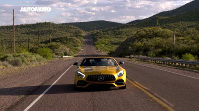 Teaser : La Mercedes-AMG GT C Roadster et l'Arizona automobile dans Automoto