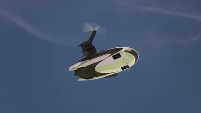 Terrafugia TF-X : présentation officielle de la voiture volante