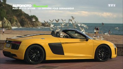 Essai Vidéo : Audi R8 Spyder 2016, grand vent sur la Costa Brava