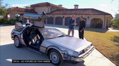 """Tony Parker et son insolite DeLorean """"Retour Vers Le Futur"""""""