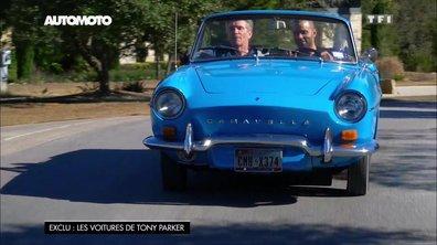 Tony Parker en Renault Caravelle 1100 S de 1967
