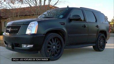 Tony Parker roule au quotidien en Cadillac Escalade