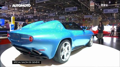 La Touring Superleggera Disco Volante Spider au Salon de Genève 2016