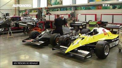 Trésors de Renault : la restauration de modèles de sport et F1