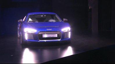 Une Audi R8 e-tron semi-autonome au CES Shanghai 2015