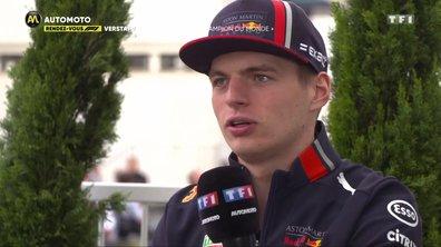 Verstappen : «J'espère être champion du monde»